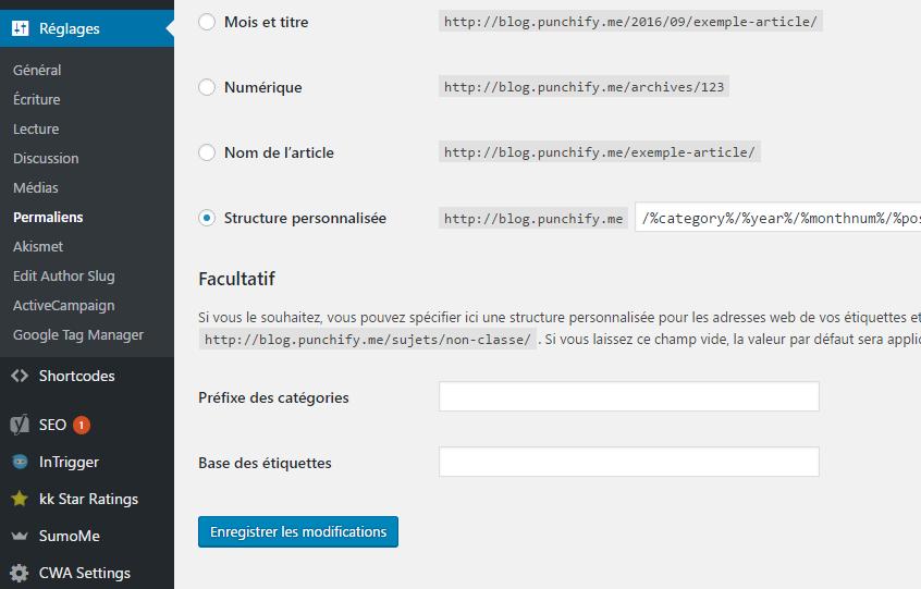 Plugin AMP pour site wordpress