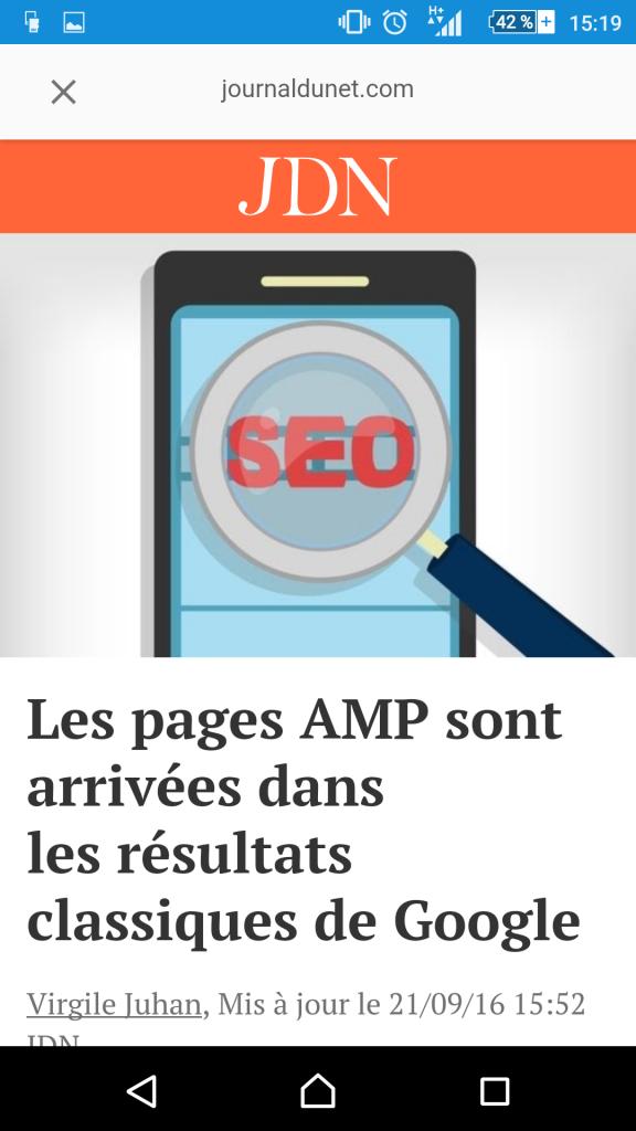 plugin AMP site wordpress, comment ça marche sur google