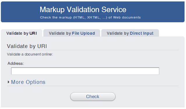 Erreurs SEO : valider son code html avec le W3C validator