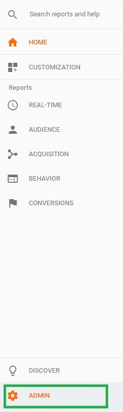 Ajouter un utilisateur sur Google Anlaytics : 1- cliquer sur Administration