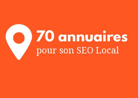 Améliorer son SEO local avec des backlinks - annuaires locaux et fichiers entreprises