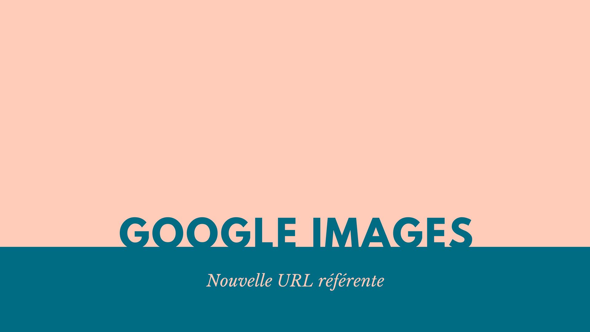 Google Images : nouvelle URL référente