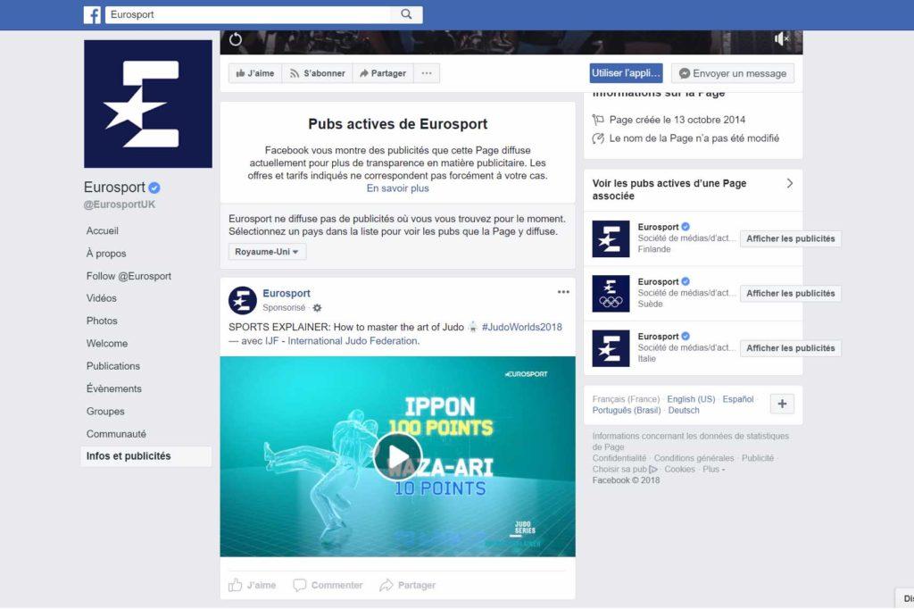 Espionner ses concurrents : strategie pub facebook concurrent