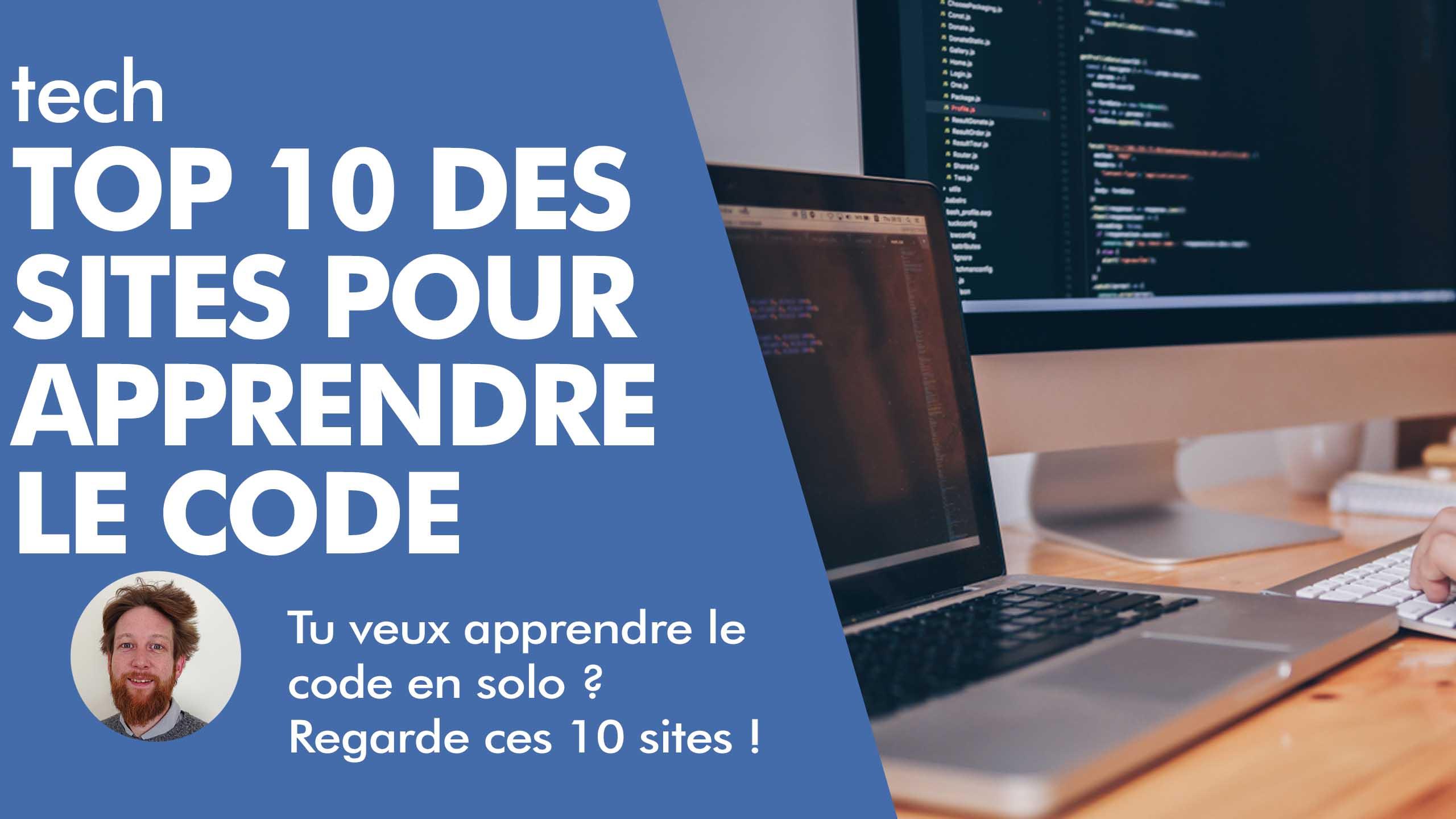 TOP 10 Des Sites Pour Apprendre à Coder