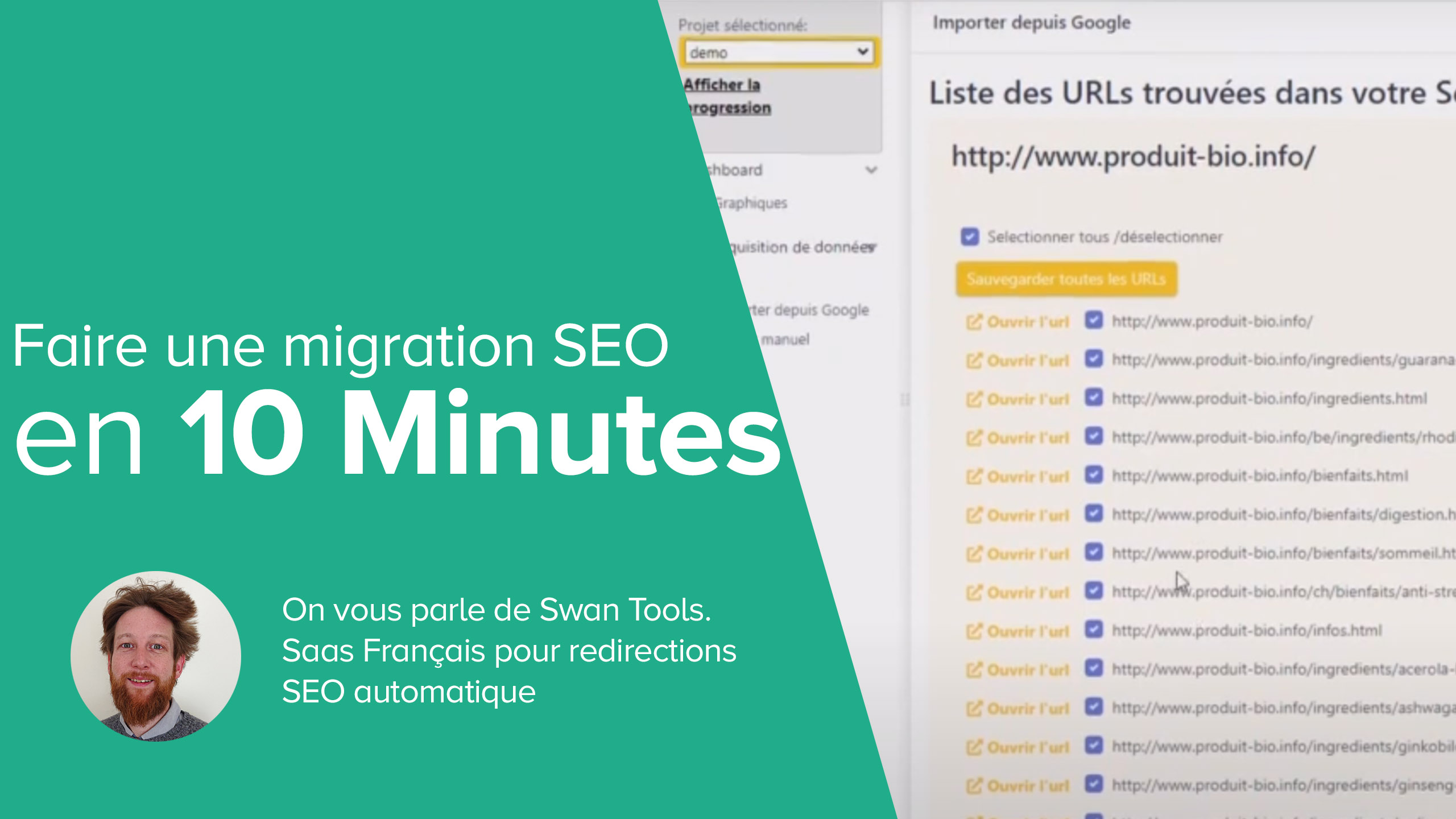 Migration SEO en 10 Minutes - Migration SEO Automatique