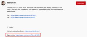 affiliate links video